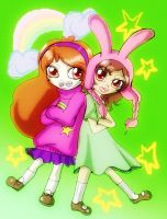 Mable and louise by Danielle-chan