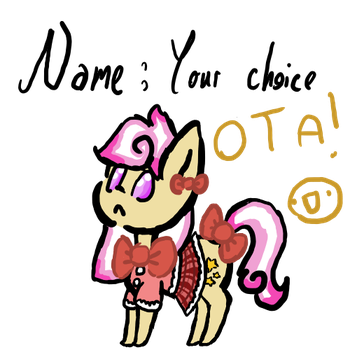 ~*~ Pony OTA! Name your price! ~*~ by Oshawottian