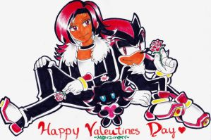 Triple Shadow Valentines Day by 7marichan7