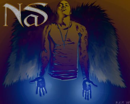 Nas, God's true son by TheClownPrince29