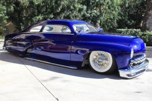 Beautiful Blue Lead Sled by DrivenByChaos