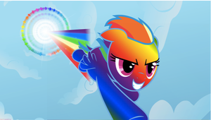 RAINBOOM!!! :D by StarCatcherZ