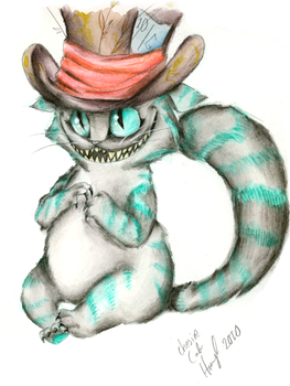 Mad Cat in a Mad Hat by Hennei