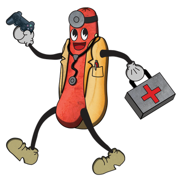 Dr Sausage_LAD! Full body (They see me rollin) by WallowBlacklake