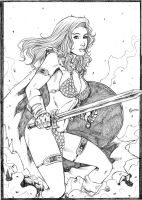 Red Sonja by gregohq