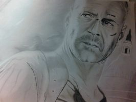 die hard....draw hard.still not finish by widgge