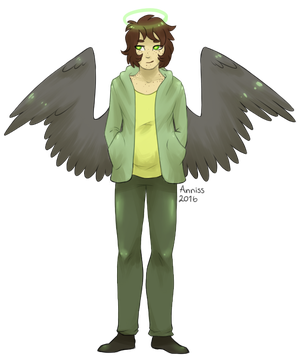 Kid the angel by AnnissXD