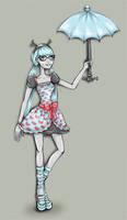 Ghoulia Yelps: Fusion Inspired by CatherineFevrier