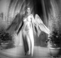 Guardian Angel by XWykydWytchX