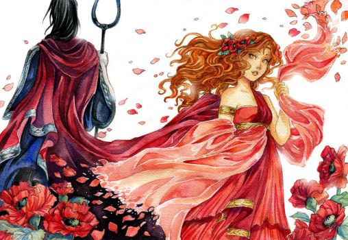 Hades And Persephone Favourites By Stabpinmonkey On DeviantArt