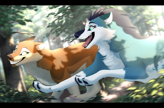 Run Through the Rays by Nightrizer
