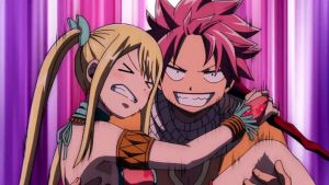 Natsu and Lucy - Fairy Tail Dragon Cry by FairyTailFan100
