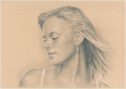 Charlize Theron by Mark-Anstis
