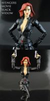 Avengers movie Black Widow Marvel Legends by Jin-Saotome