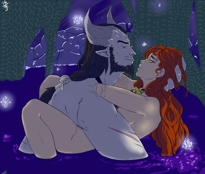 Intimate Grotto by Beautiful-Doubt