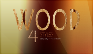 Wood Styles by ISatQuietly