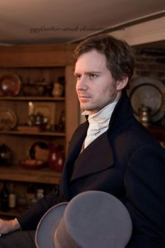 Regency Ben with Hat by eyefeather-stock