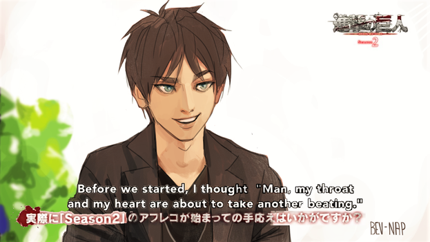 Interview with Eren by Bev-Nap