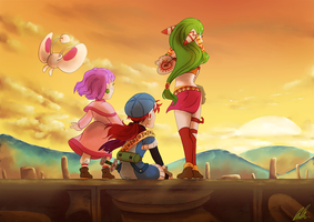 Grandia - Playstation 20 years on by C-Puff