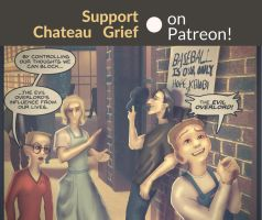 Chateau Grief Patreon Announcement! (AND LINKS) by chateaugrief