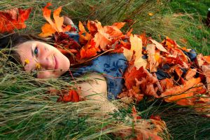 Fallen Leaves by Bambi-Claire