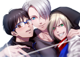 rendrs#76)-[yuri on Ice] by kanall