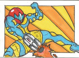 Metroid Fusion PSC by kylemulsow