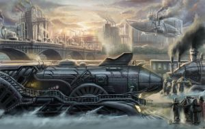 locomotive by TolyanMy
