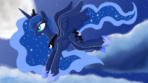 Lunar Night by MelodyCrystel