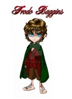 Frodo Baggins by SapphireGamgee
