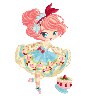 Gaia commish- Pink Peppercorn by crystaltiger52