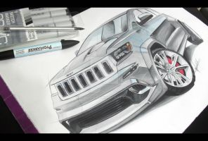 Grand Cherokee 2013 by magao
