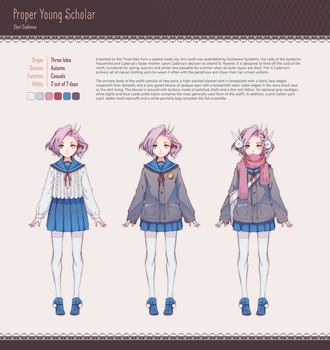 {PR} - Proper Young Scholar by Nyanfood