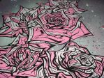 Graffiti Roses by SUREGRAFFITI