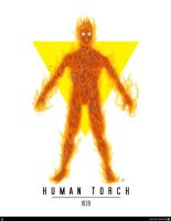 Human Torch (android) - First appearance (1939) by elfantasmo