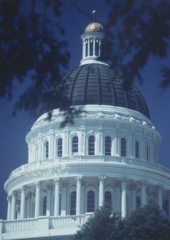 California State Capitol Dome by luvtulips