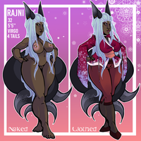 Rajni Character Sheet by PrincessPuru