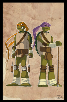 Turtle Power 2.0 by Jambo86