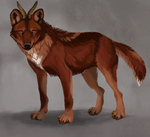 Commission: Whitepup by savage