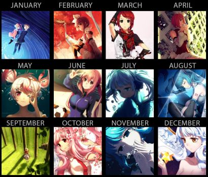 2014 Art Summary by Rosuuri