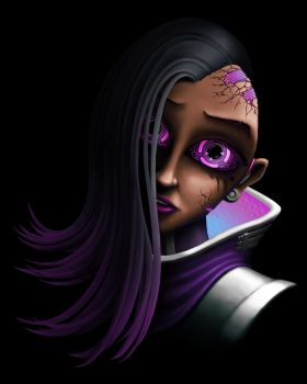 Sombra's Overdose (Overwatch) by KevinFurr