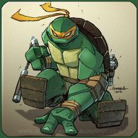 TMNT :: Michaelangelo REMIX by Red-J