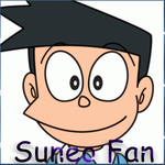 Suneo Fan Button by AtlixHedgehog