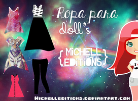 Ropa Para Dolls MichellEditions by MichellEditions