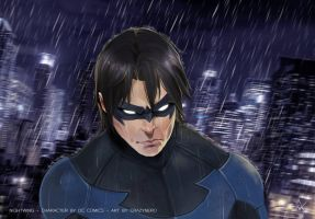 Nightwing - the first by FelipeNero