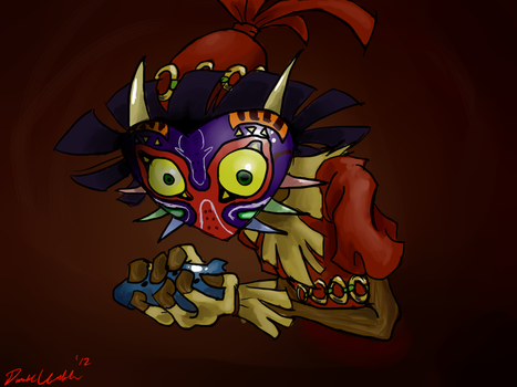Majora's Mask: I just wanted a little fun by LethargicDuality