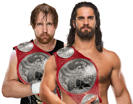 Ambrollins RAW Tag Team Champions 2017 by NuruddinAyobWWE