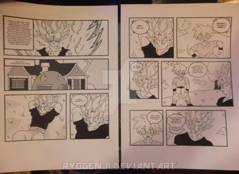 Big project - First 2 pages :D by RyoGenji