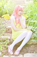 Fluttershy - Carnahan Garden by ithili3n