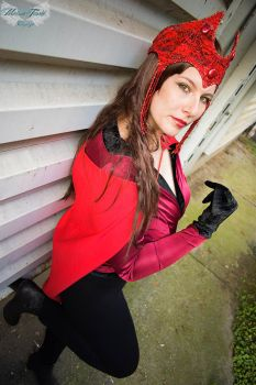Marvel - Scarlet Witch Cosplay by MeirouTenshi
